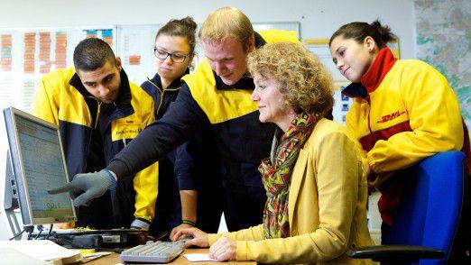 Die Deutsche Post will über Tochterfirmen neue, unbefristete Arbeitsplätze schaffen.