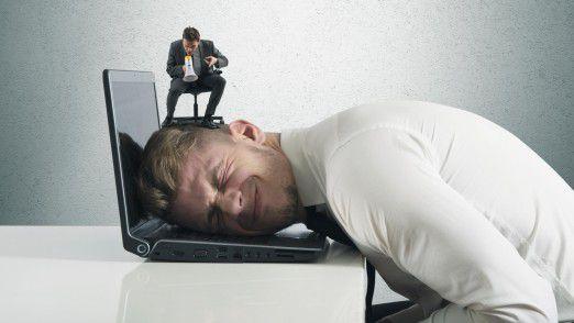 Für viele Menschen bedeutet Arbeiten in erster Linie, maximal unter Druck zu stehen.