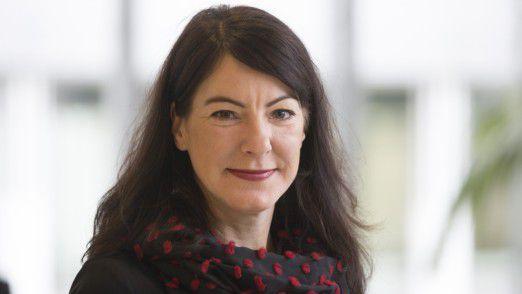 T-Systems-Managerin Wenke Pfützner durchläuft bis Sommer 2015 ein internes Schulungsprogramm für potenzielle zukünftige Aufsichtsräte.