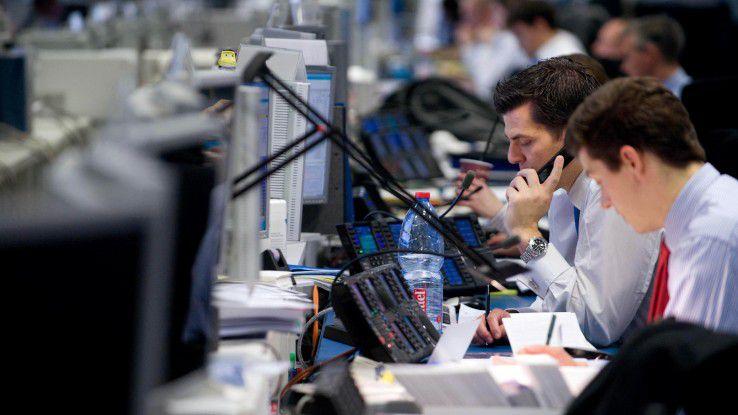 Die Deutsche Bank lagert an HP aus.