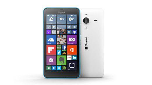 Das Microsoft Lumia 640 XL.