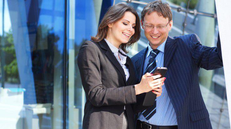 Mit den neuen Business-Tarifen erhalten Mitarbeiter eine Art Mobilitätsgarantie - auch nach Aufbrauch ihres gebuchten Datenvolumens.