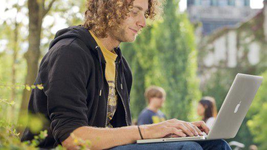 Forschung und Lehre verlegen sich zunehemend ins Web.