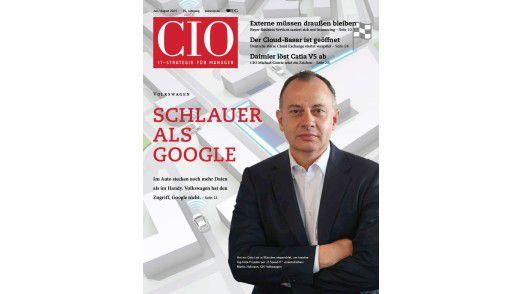 Das CIO-Magazin Juli-August 2015.