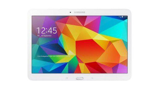 Samsung Galaxy Tab 4 10.1: Android-Tablet mit LTE für rund 250 Euro