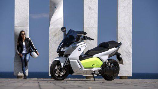 Für die Stadt konzipiert: Der BMW C evolution.
