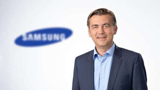 Sascha Lekic, Director Sales B2B, IT & Mobile Communication bei Samsung Electronics, glaubt, dass die Nutzung von VR-Brillen in wenigen Jahren so normal sein wird wie das Googlen.