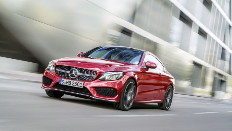 Das Mercedes-Benz C-Klasse Coupé kommt im Dezember 2015 auf den Markt.