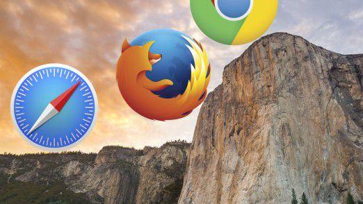 Welcher Browser ist der beste für Ihren Mac? Wir haben Safari, Chrome und Firefox getestet.