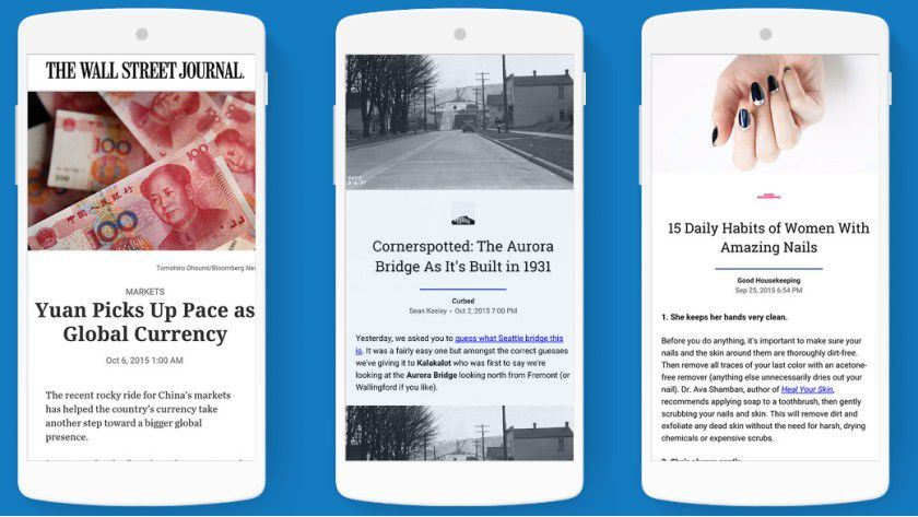 Ziel des AMP Projekts ist es, dass Bildergalerien, Videos, Grafiken oder Ähnliches auf mobilen Websites schneller geladen werden.