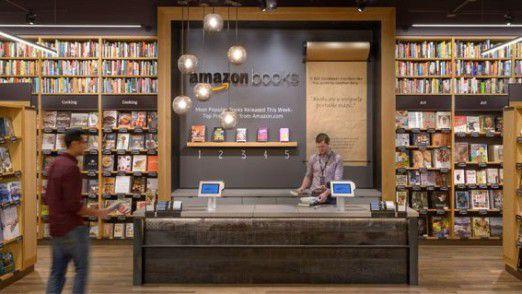 Amazons Buchladen hat jeden Tag geöffnet.