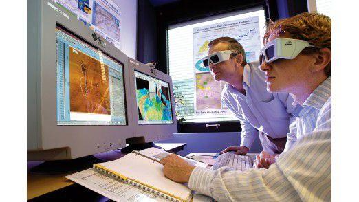 Bei dem Shell-Projekt zusammen mit SAP und T-Systems arbeiten Ingenieure, Geologen und Data Scientists daran, bessere Informationen aus der Unmenge an Daten zu ziehen, die Bohrungen und andere Quellen erzeugen.