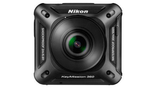 Action-Kamera: Nikon KeyMission 360.