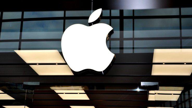Apple kauft von Zeit zu Zeit kleinere Technologieunternehmen...
