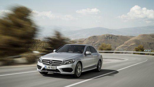 Mercedes-Benz C-Klasse C 250 mit AMG Line: Die Mercedes-Benz C-Klasse ist nach wie vor das volumenstärkste Modell im Daimler-Konzern.
