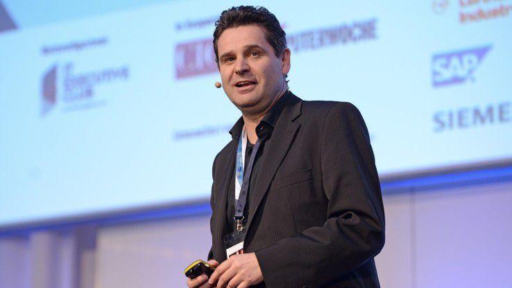 Ralf Schneider, Group CIO der Allianz SE, auf den Hamburger IT-Strategietagen 2016.