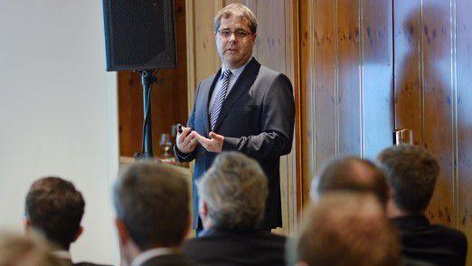 Michael Scherf, Mitglied der Geschäftsleitung von All for One Steeb.