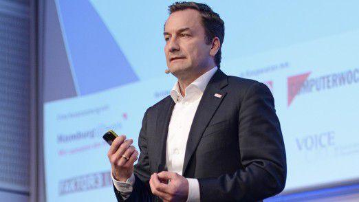 Elmar Pritsch, CIO der Robert Bosch GmbH, auf den Hamburger IT-Strategietagen