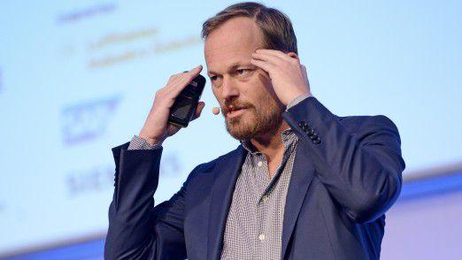 Yuri van Geest sprach auf den Hamburger IT-Strategietagen 2016.