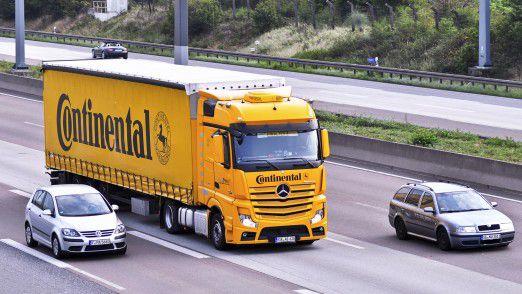 Continental will Lkw-Flottenmanagern mehr Transparenz bieten.