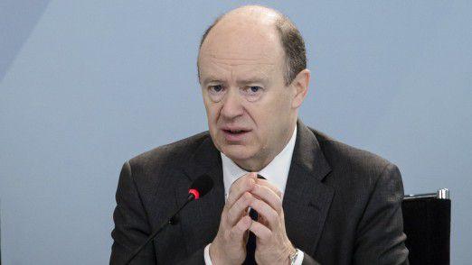 Der ehemalige Deutsche Bank CEO John Cryan.