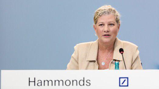 Kim Hammonds hört auf.