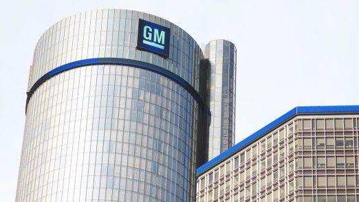 Hauptsitz von General Motors in Detroit