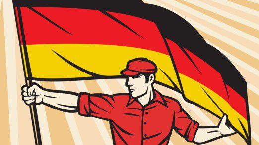 Die deutsche Wirtschaft zeigt sich gegen politische Turbulenzen immun.