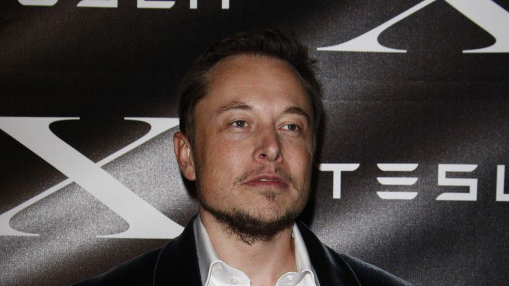 Multimilliardär und Unternehmer Elon Musk