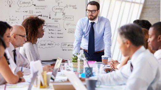 Mittelständische Unternehmen sehen HR mehr als Dienstleister denn als strategischen Partner.
