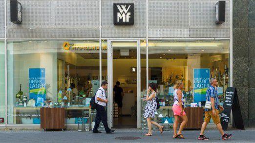 WMF-Laden in Berlin: Auch hier wird es bald die neue mobile App geben.