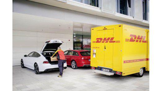 Paketzustelllung im Auto – bald Realität?