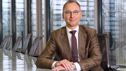 Werner Baumann, Vorsitzender des Vorstands der Bayer AG