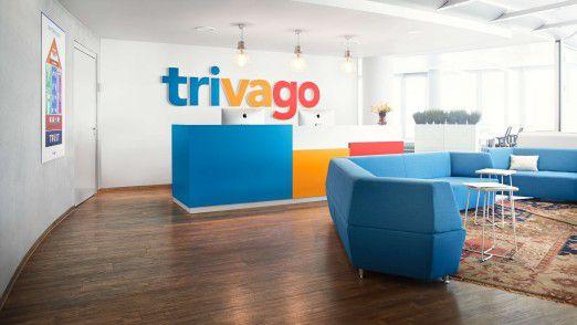 Das junge Unternehmen Trivago will so bunt sein wie das Firmenlogo.