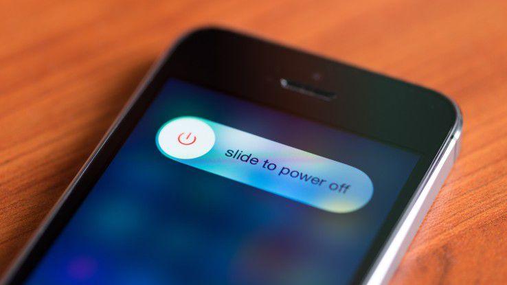 Auch alte iPhones sind noch relativ wertstabil.