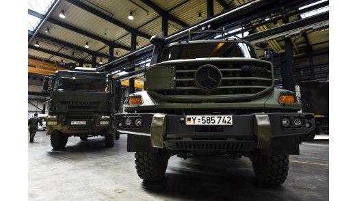 Ob PKW, LKW oder speziell ausgestattete Sonderfahrzeuge: BwFuhrpark Service stellt der Bundeswehr weltweit Fahrzeuge zur Verfügung.