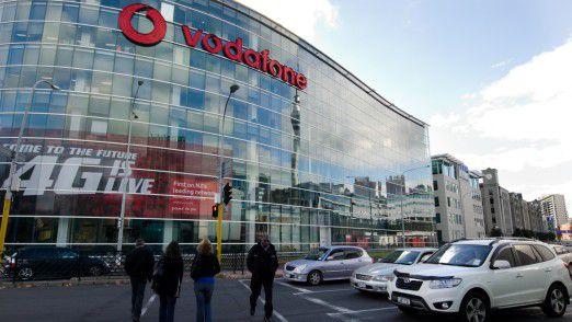 Vodafone Hauptsitz in Auckland.