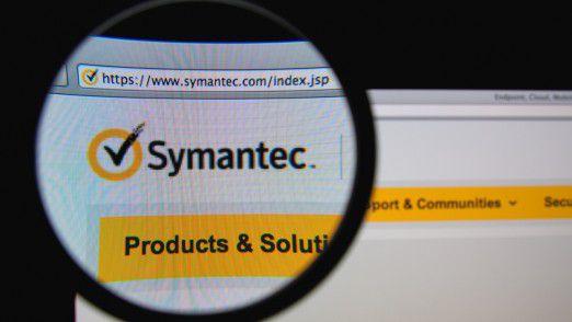 Symantec stellt Updates bereit.