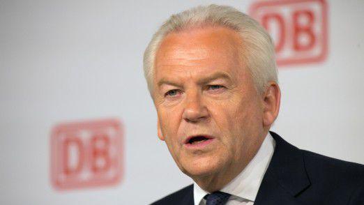 Deutsche Bahn CEO Rüdiger Grube