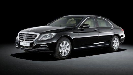 Fährt fast von selbst: Die S-Klasse von Mercedes-Benz