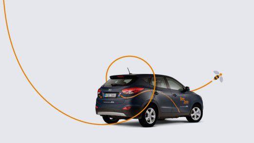 BeeZero bietet 50 Hyundai ix35 Fuel Cell an.