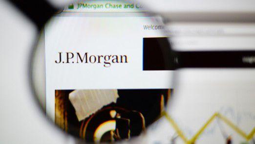 Die Großbank J.P. Morgan setzt auf die Public Cloud.