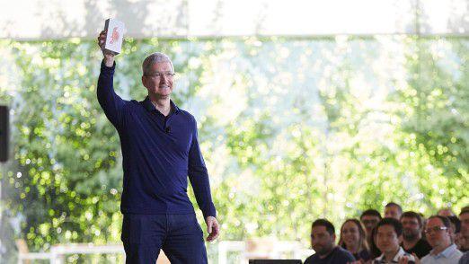 Traditionell stellt Apple im September die nächste iPhone-Generation vor. Timm Cook wird das neue Smartphone enthüllen.