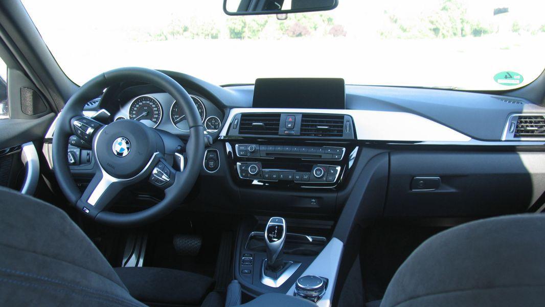 BMW 340i Limousine (F30): Interieur: Interieur vorn - cio.de