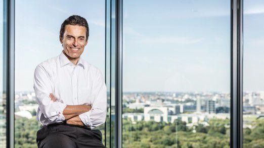 Eberhard Kurz treibt als Konzern-CIO die Digitalisierung der Bahn voran.