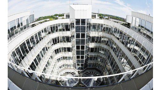 Der Unternehmenshauptsitz von Open Grid Europe in Essen.