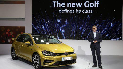Volkswagen-Markenchef Herbert Diess treibt den Umbau voran.
