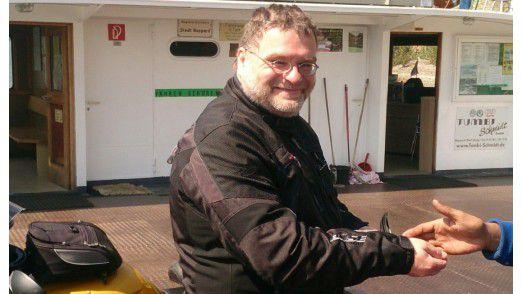 Wegen seiner großen Leidenschaft, dem Motorradfahren, reduzierte Abteilungsleiter Michael Richartz (Deutsche Telekom) die Arbeitszeit um einen Tag pro Woche.