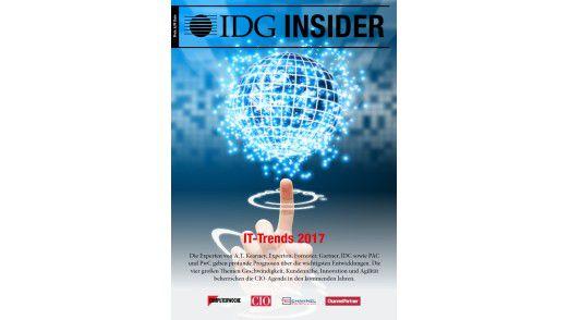Wissen kompakt: Der IDG Insider zu den IT-Trends 2017.
