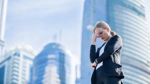 Ständig negative Kollegen können sehr anstrengend sein.